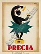 CHARLES LOUPOT (1892-1962) CAFE PRECIA.  1929., Charles Loupot, Click for value