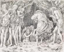 ANDREA MANTEGNA (follower of) The Descent of Christ into Limbo