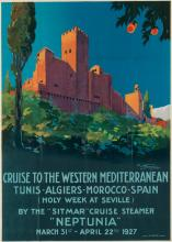 GIULIO FERRARI (1900-1990). CRUISE TO THE WESTERN MEDITERRANEAN /