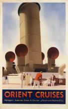ANDREW JOHNSON (DATES UNKNOWN). ORIENT CRUISES. Circa 1933. 39x24 inches, 101x63 cm.