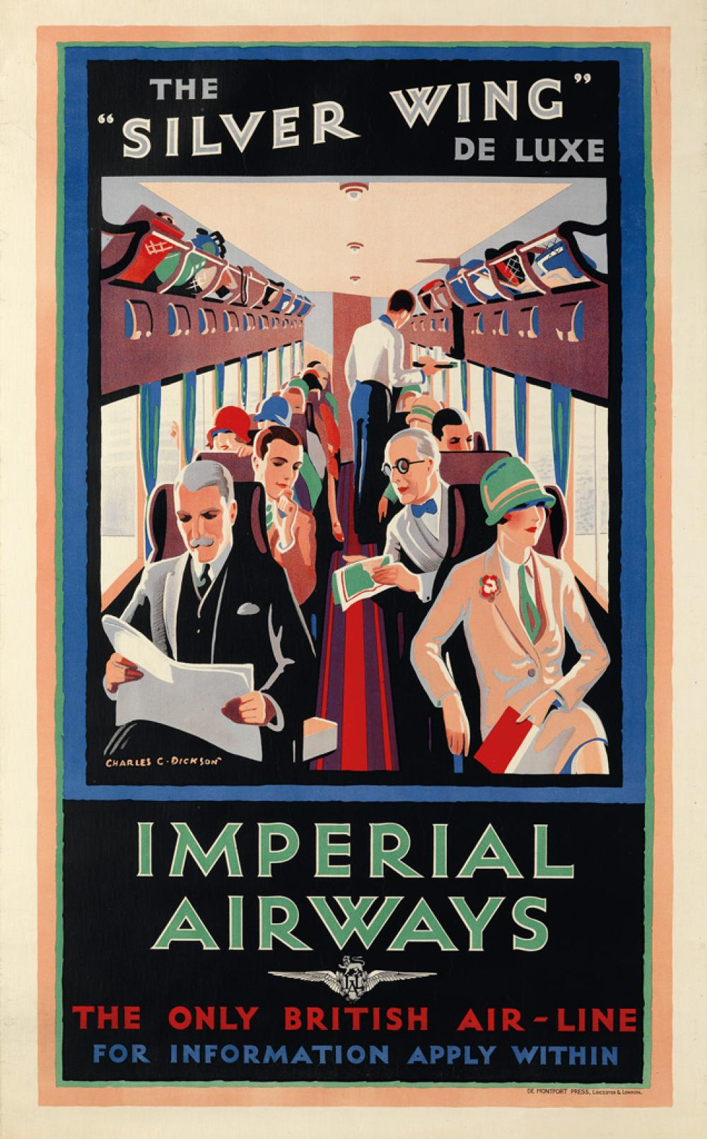 CHARLES C. DICKSON (DATES UNKNOWN). IMPERIAL AIRWAYS / THE