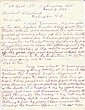 (AMERICAN INDIANS.) Hopkins, Sarah Winnemucca. An impassioned letter to the President, complaining of corrupt Indian agents.