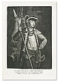 (AMERICAN REVOLUTION--PRINTS.) Will, J.M.; engraver. Major General John Sullivan, a Distinguish'd Officer in the Continential Army.