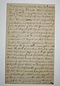 (AMERICAN INDIANS--SENECA.) Ewing, William. Manuscript deed, 1795, mentioning