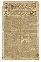 (AMERICAN REVOLUTION--PRELUDE.) The Massachusetts Spy, or, Thomas's Boston Journal.