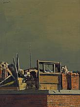 HUGHIE LEE-SMITH (1915 - 1999) Rooftops.