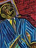 FREDERICK J. BROWN (1945 - 2012) Art Blakey., Frederick James Brown, Click for value