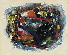 FELRATH HINES (1913 - 1993) Untitled (Abstract Composition).