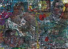 LOUIS DELSARTE (1944 - ) Elements of Time.