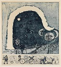 BETYE SAAR (1926 -   ) Winter Symbol.