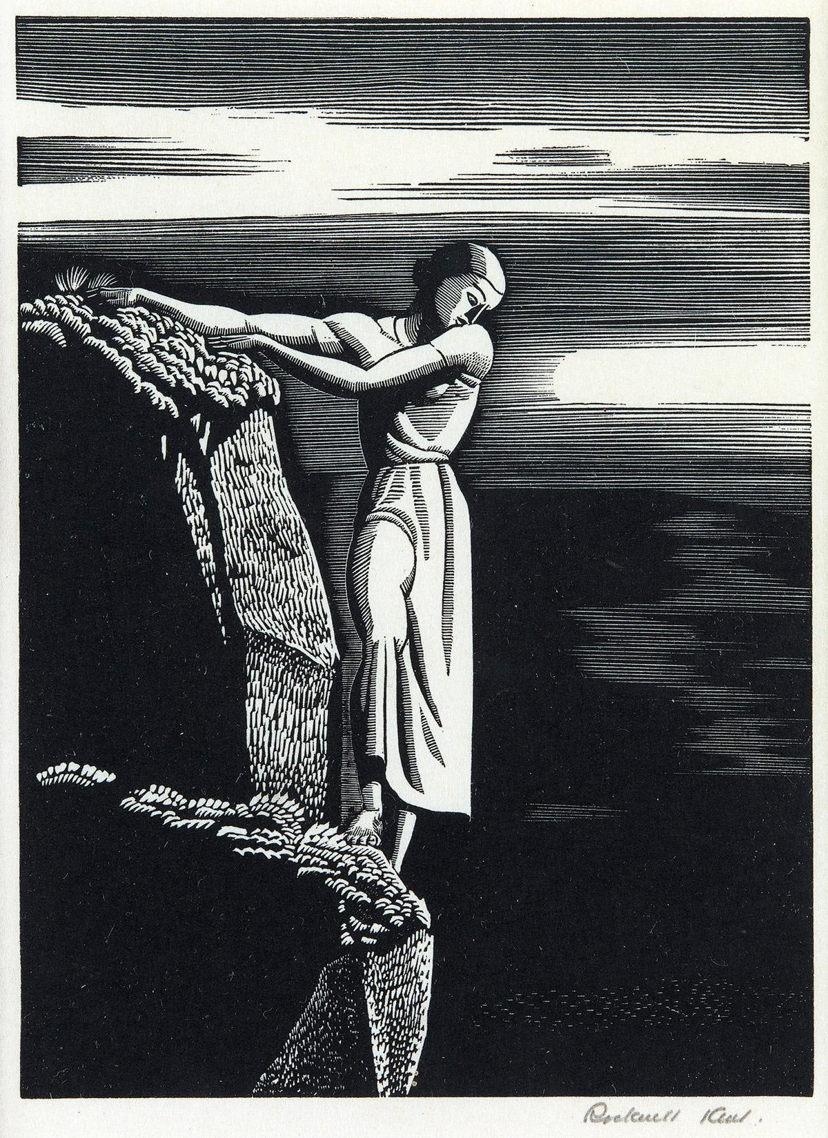 Sold Price: Rockwell Kent (AMERICAN, 1882-1971) 1930 Wood