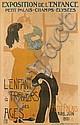 CLEMENTINE-HELENE DUFAU (1869-1937). L'ENFANT A TRAVERS LES AGES. 1901. 59x39 inches, 150x99 cm. Charles Verneau, Paris., Hélène Dufau, Click for value