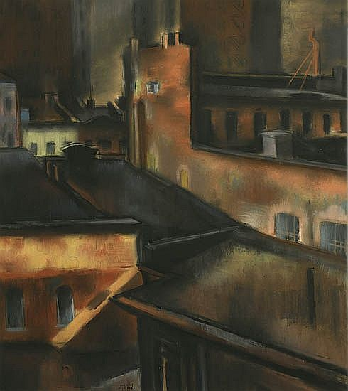 FRANCIS DEERDELY New York Rooftops.