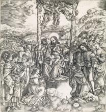 CRISTOFANO DI MICHELE MARTINI, IL ROBETTA Adoration of the Magi.