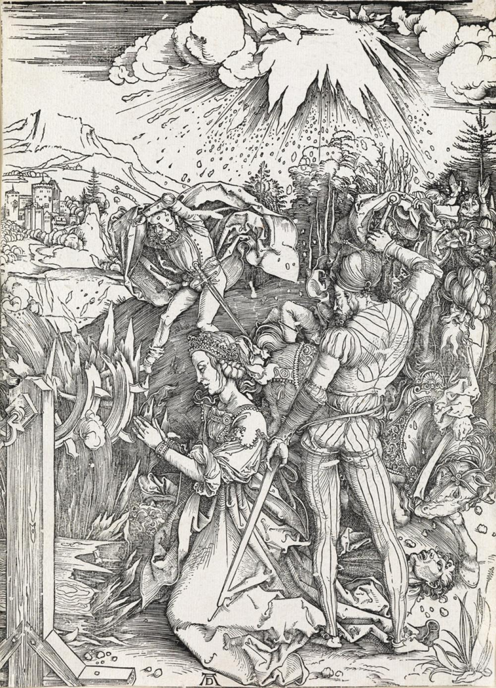 ALBRECHT DÜRER The Martyrdom of St. Catherine.