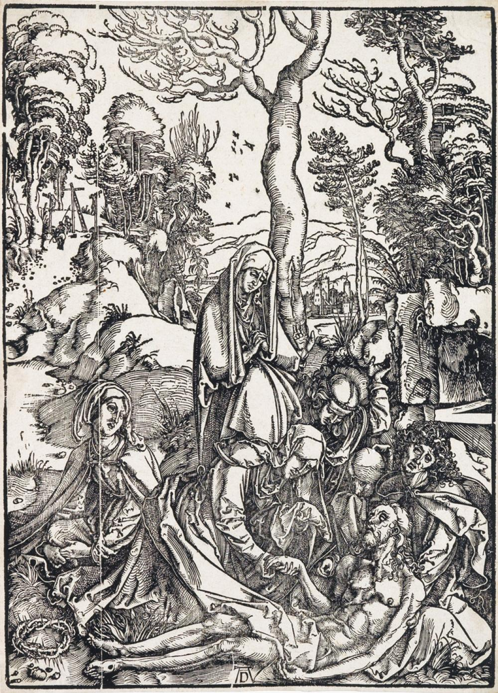 ALBRECHT DÜRER The Lamentation.