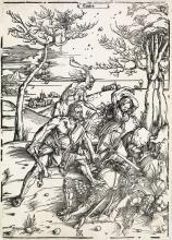 ALBRECHT DÜRER Hercules Conquering the Molionide Twins.