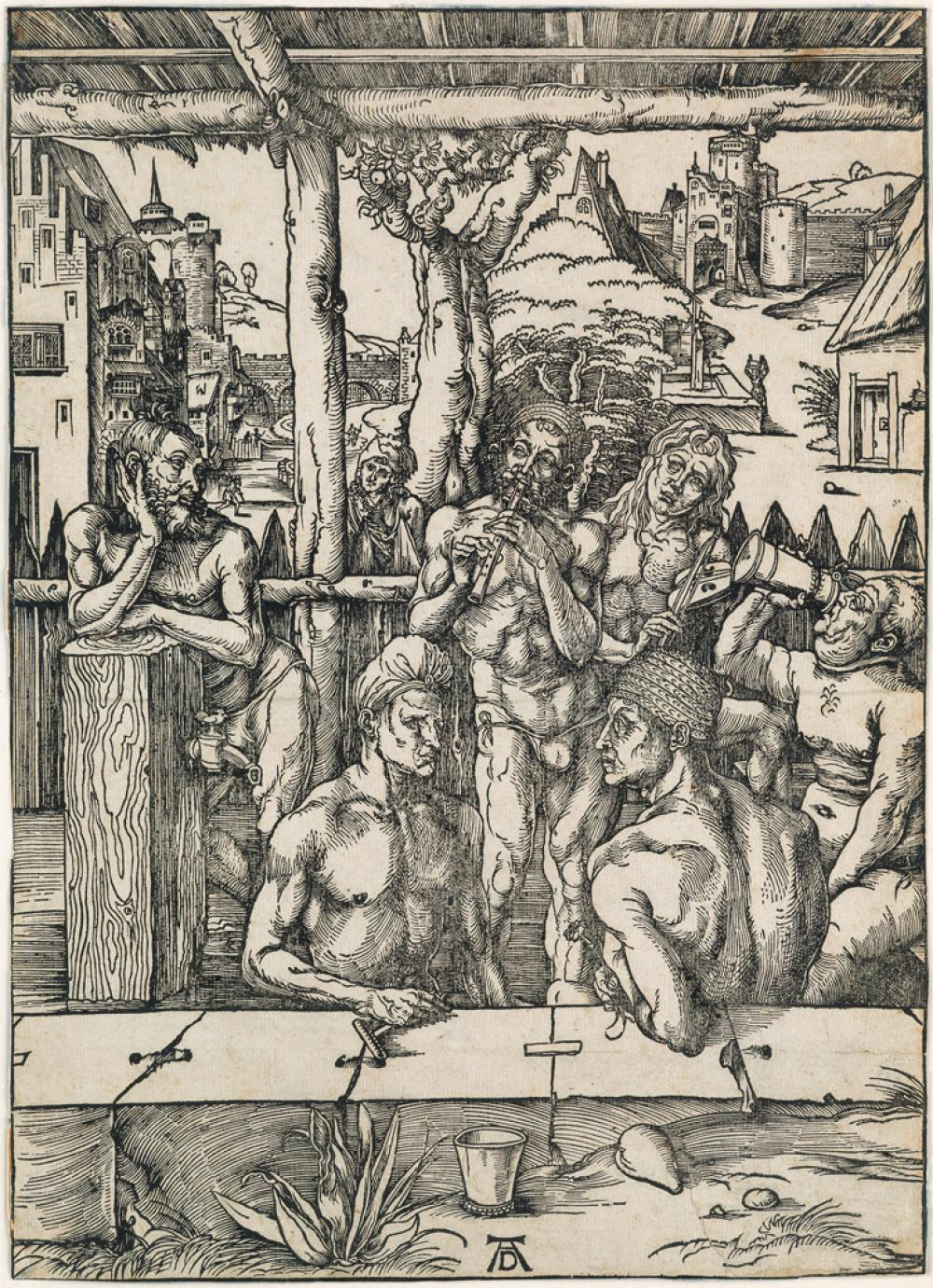 ALBRECHT DÜRER The Bath House.