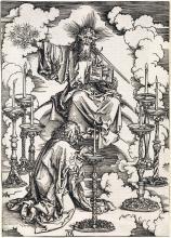 ALBRECHT DÜRER The Vision of the Seven Candlesticks.