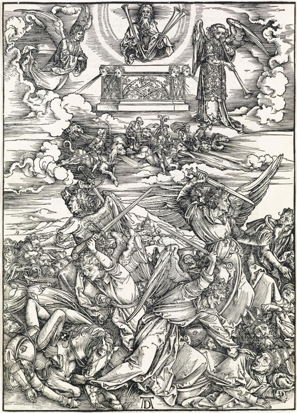 ALBRECHT DÜRER The Four Avenging Angels.