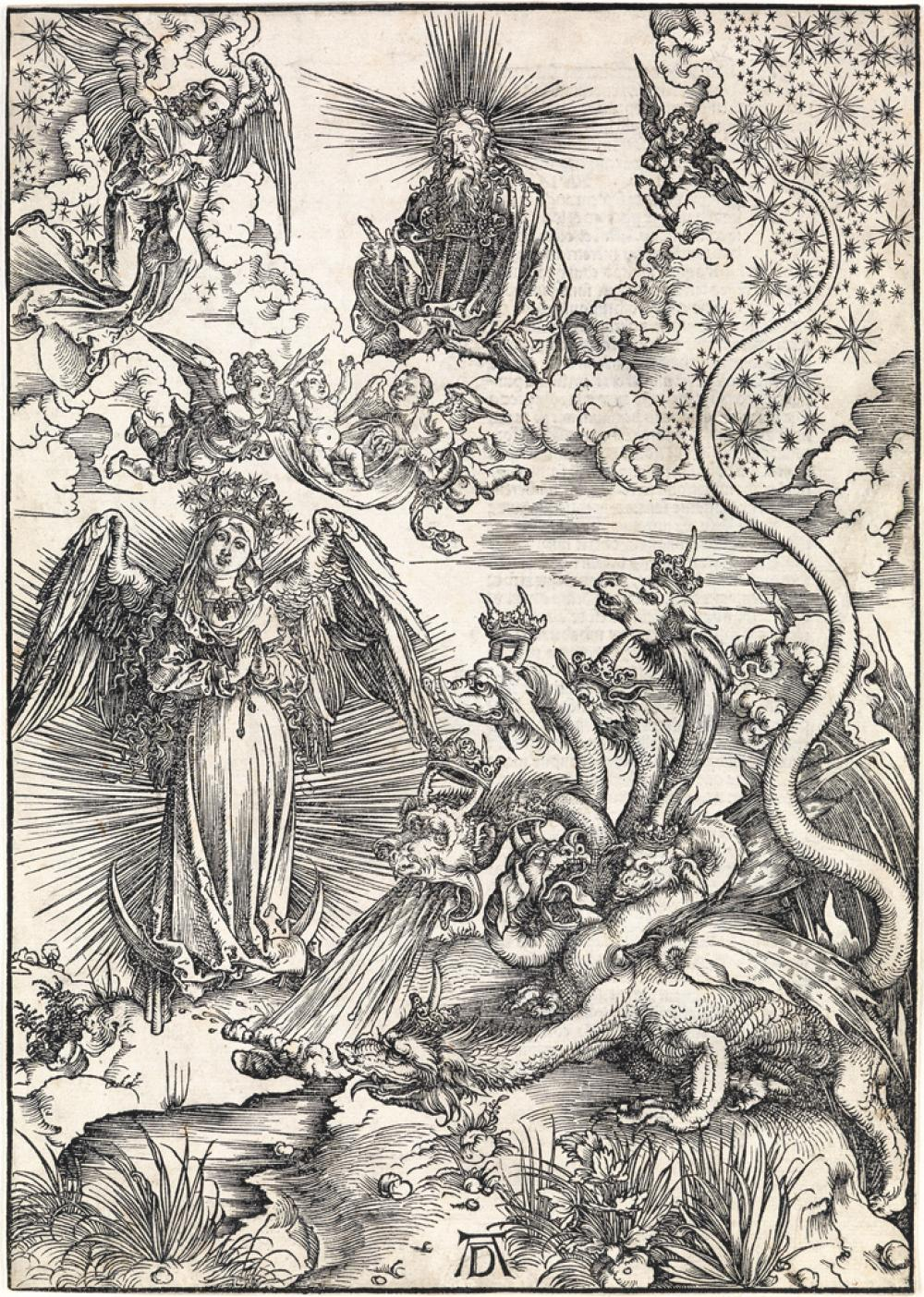ALBRECHT DÜRER The Apocalyptic Woman.