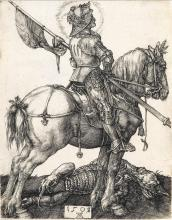 ALBRECHT DÜRER St. George on Horseback.