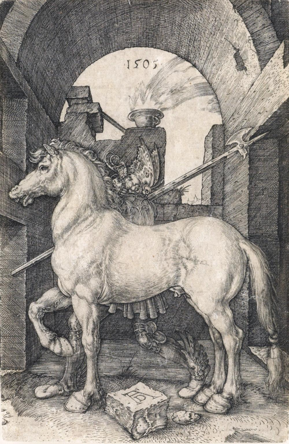 ALBRECHT DÜRER The Small Horse.