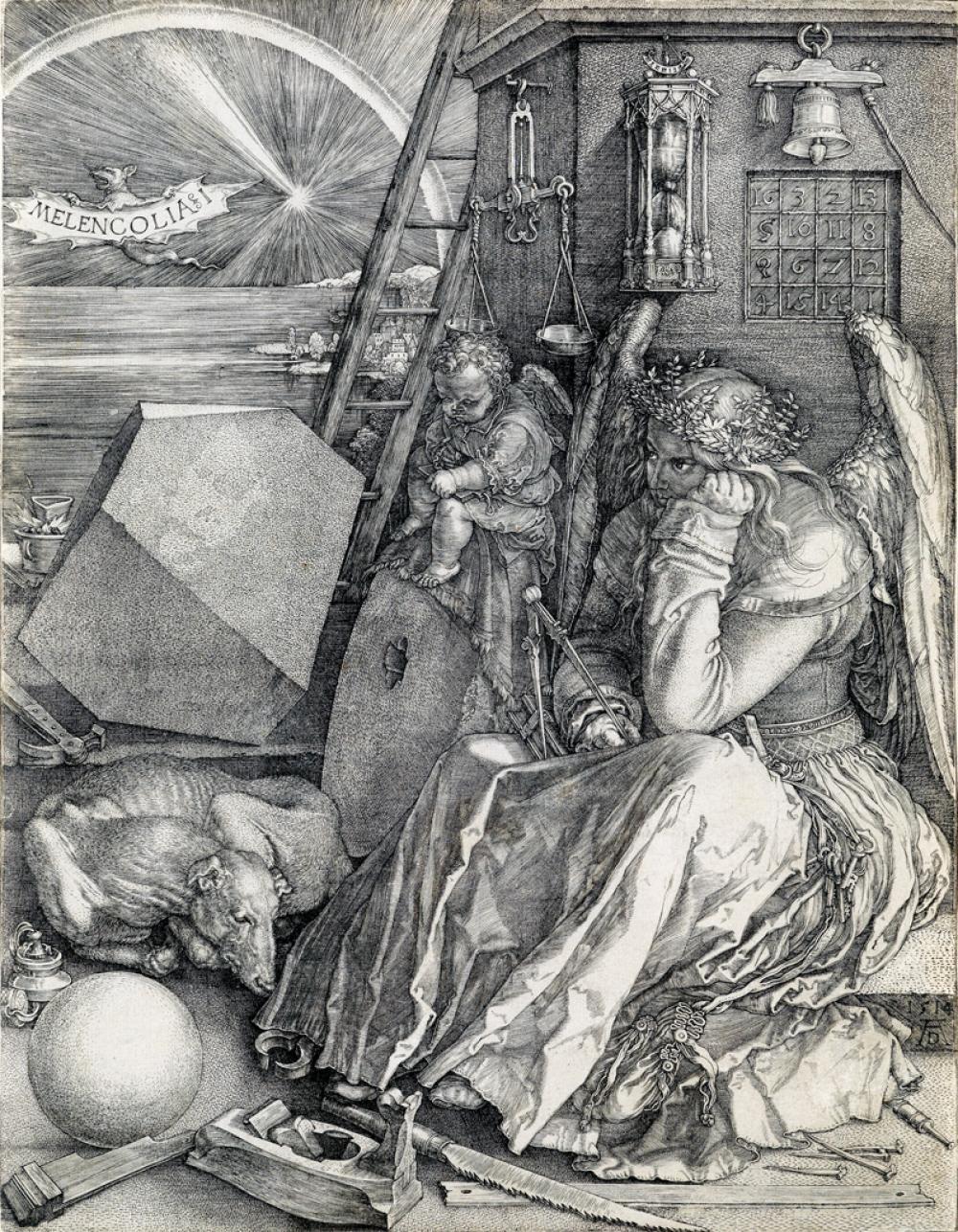 ALBRECHT DÜRER Melencolia I.