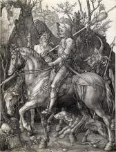 ALBRECHT DÜRER Knight, Death and the Devil.