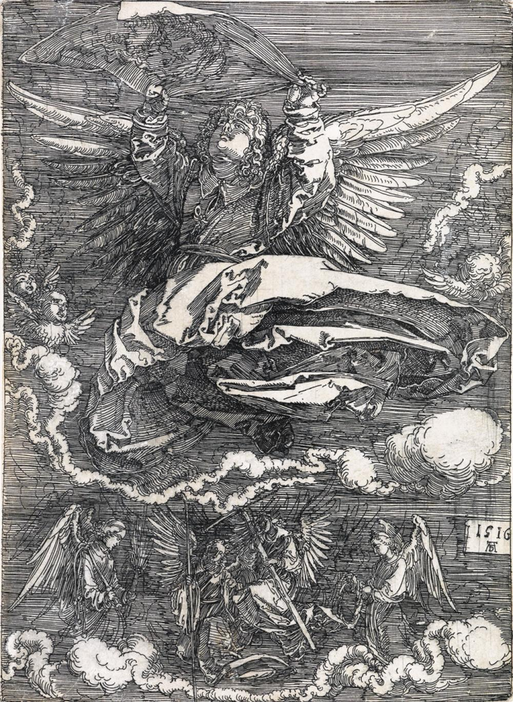 ALBERCHT DÜRER The Sudarium by One Angel.
