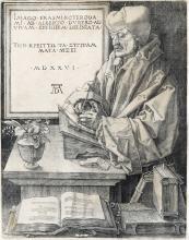 ALBRECHT DÜRER Erasmus of Rotterdam.