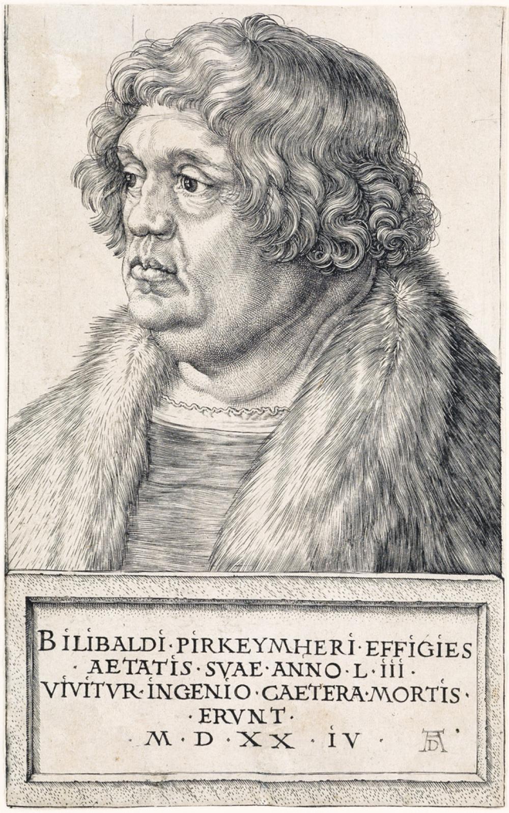 ALBRECHT DÜRER Willibald Pirkheimer.