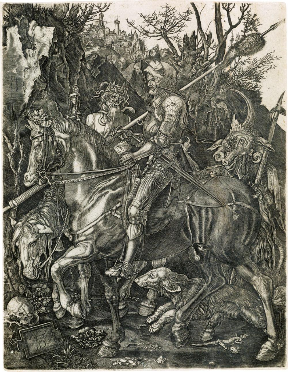 ALBRECHT DÜRER (after) Knight, Death and the Devil
