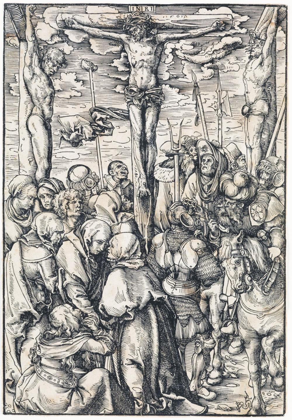 LUCAS CRANACH The Crucifixion.