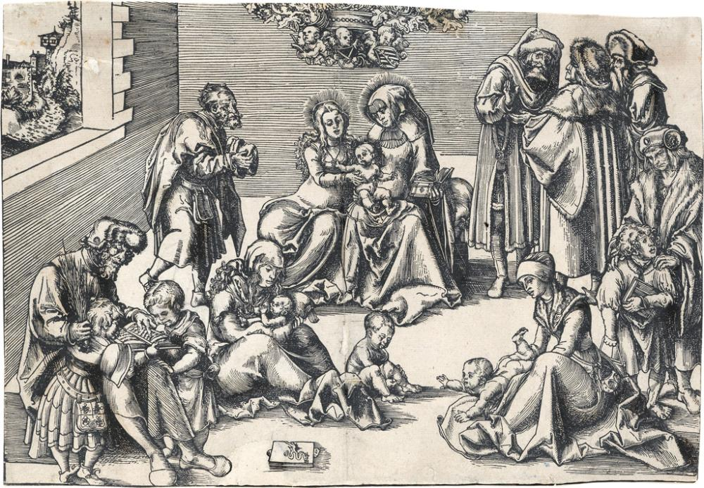 LUCAS CRANACH The Holy Kinship.