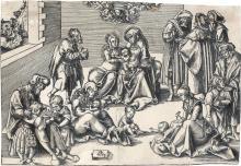 LUCAS CRANACH The Holy Kinship.