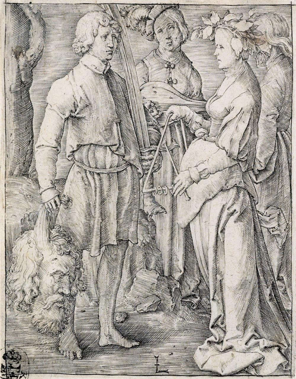 LUCAS VAN LEYDEN Two engravings.