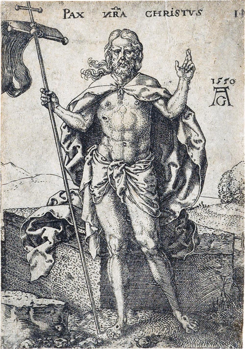 HEINRICH ALDEGREVER Pax Nostra Christus.