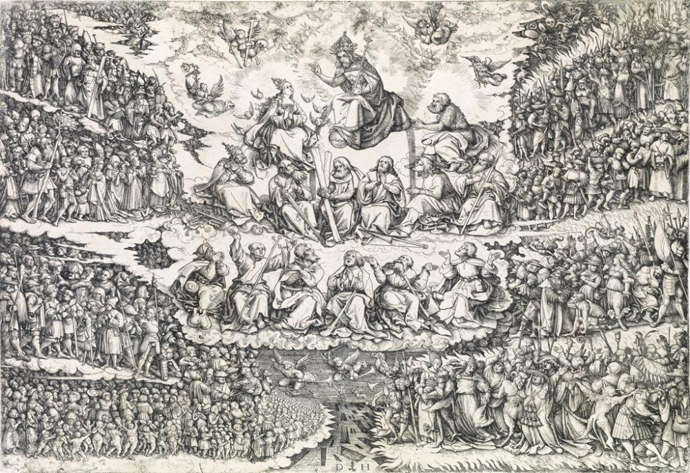 DANIEL HOPFER The Last Judgment.