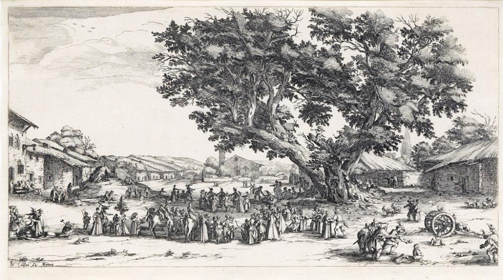 JACQUES CALLOT Foire de Gondreville.