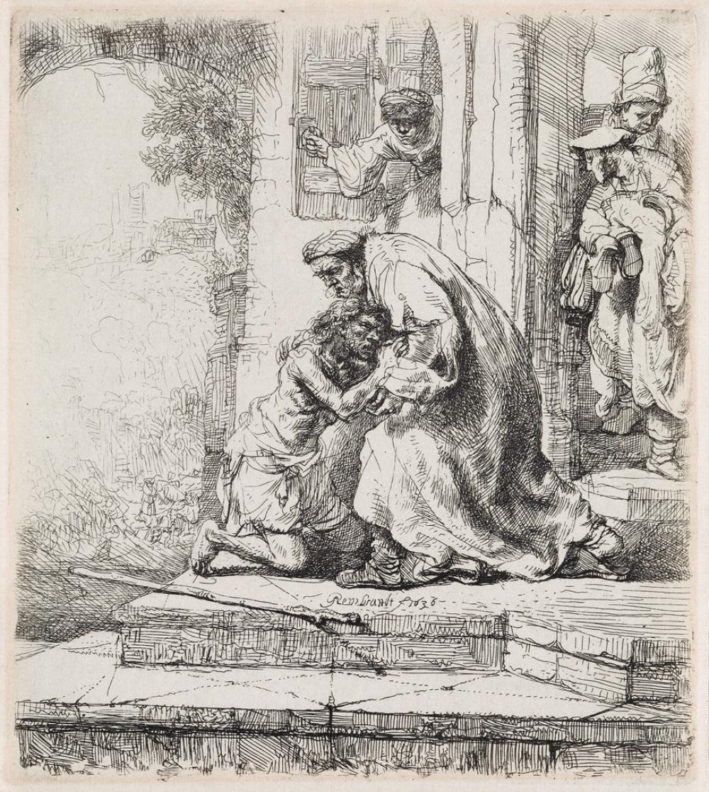 REMBRANDT VAN RIJN The Return of the Prodigal Son.