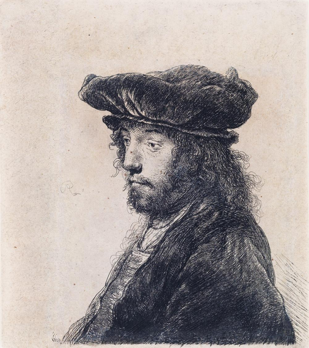 REMBRANDT VAN RIJN The Fourth Oriental Head.