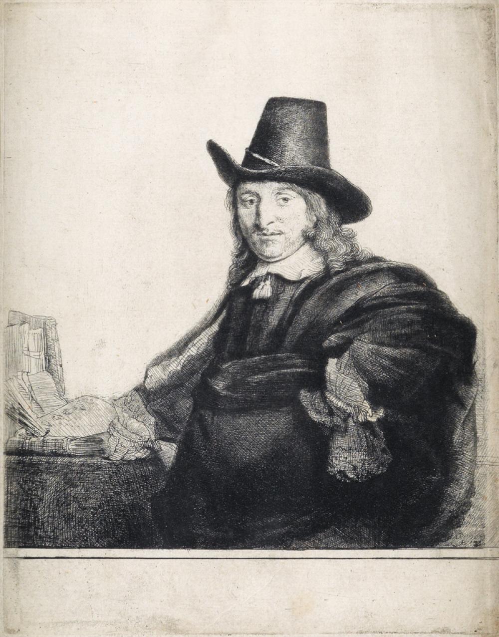REMBRANDT VAN RIJN Jan Asselyn, Painter.