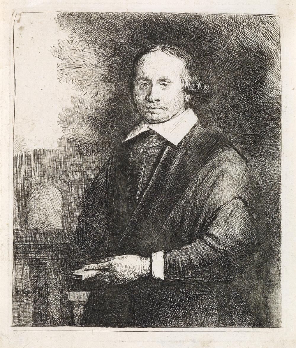 REMBRANDT VAN RIJN Jan Antonides van der Linden, Physician.