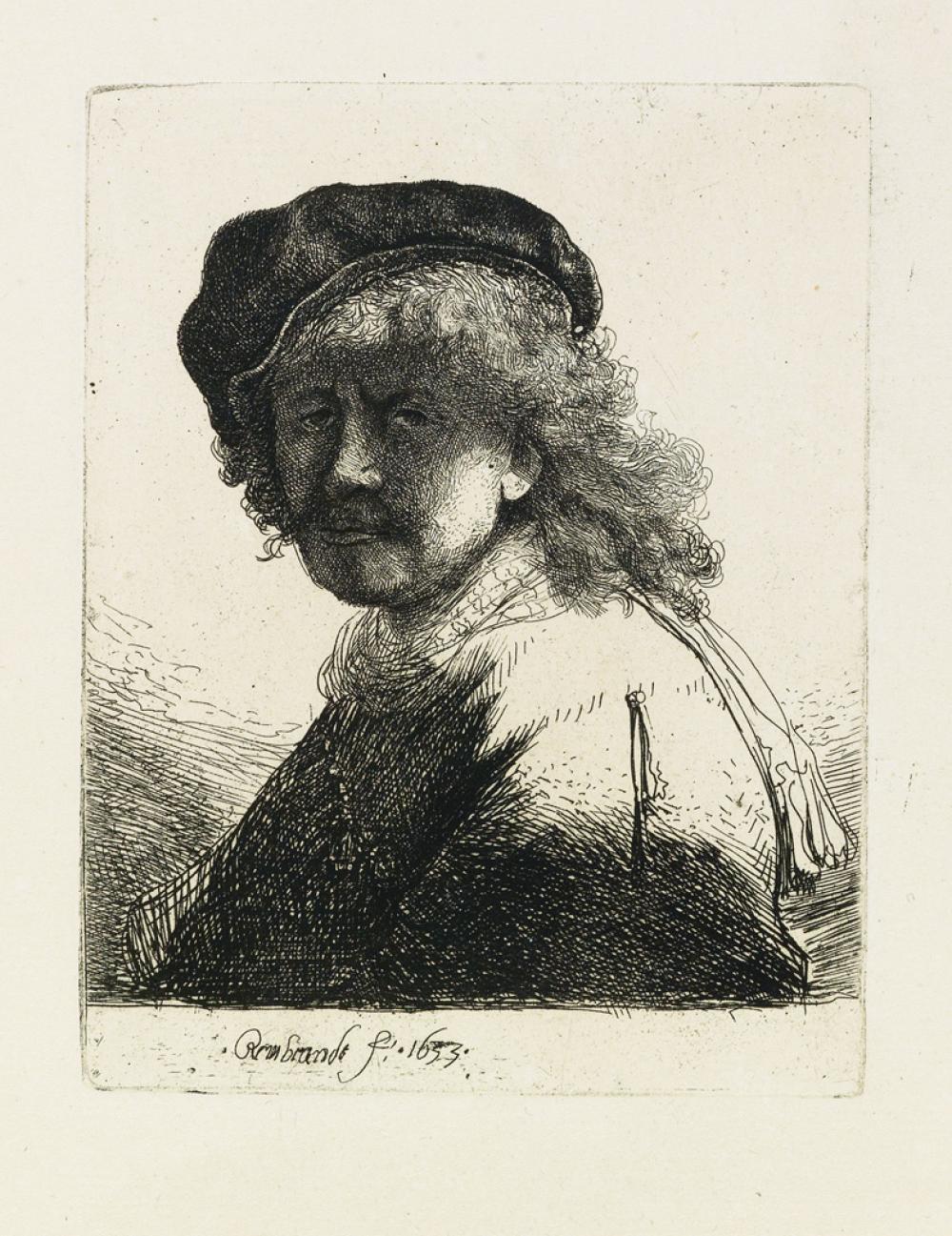 REMBRANDT VAN RIJN Les Cuivres de Rembrandt, Réimpression des Planches Originales.
