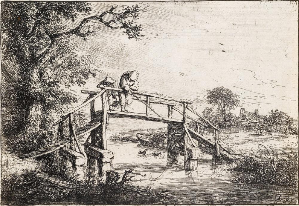 ADRIAEN VAN OSTADE The Anglers.