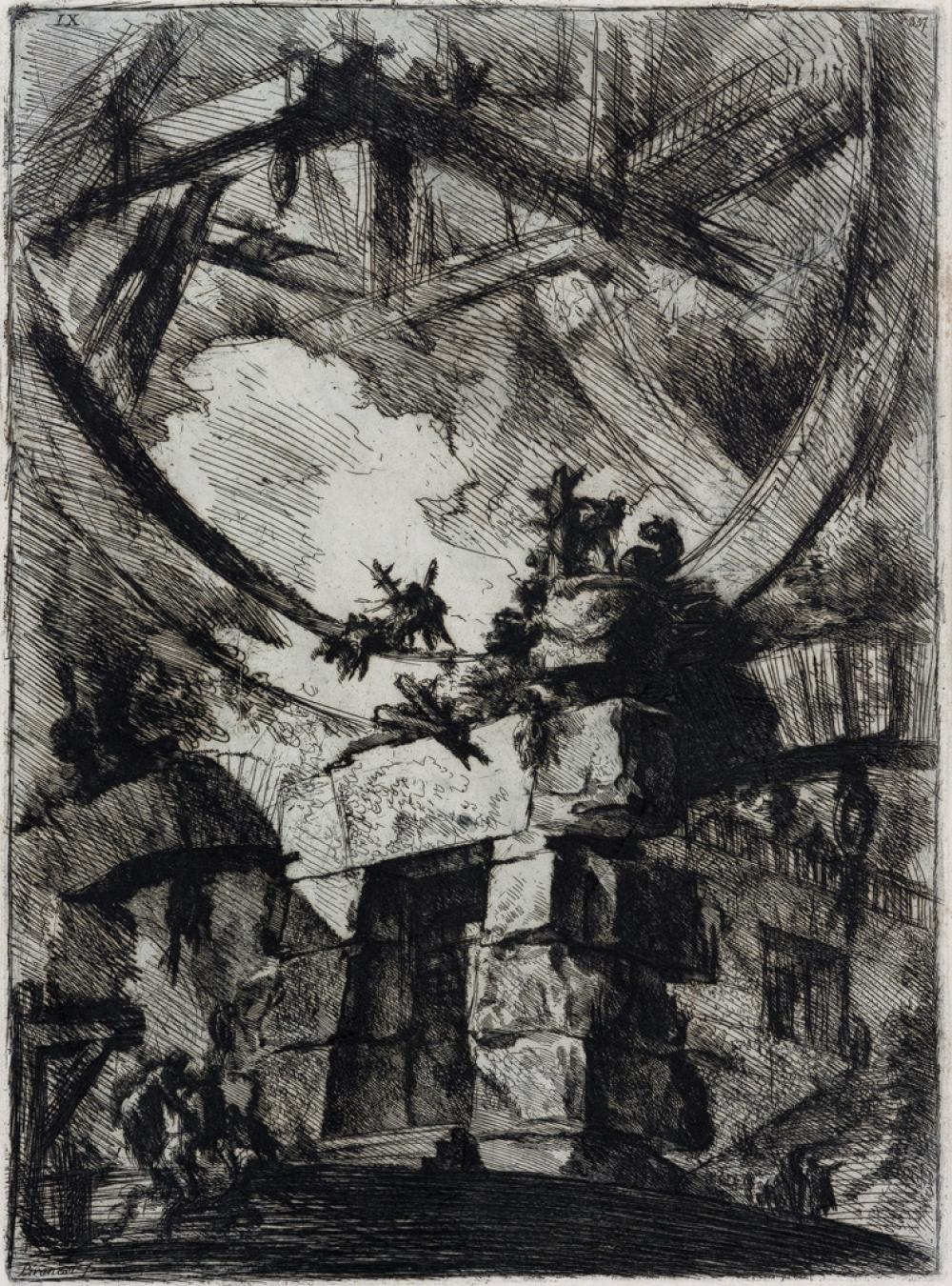 GIOVANNI B. PIRANESI The Giant Wheel.