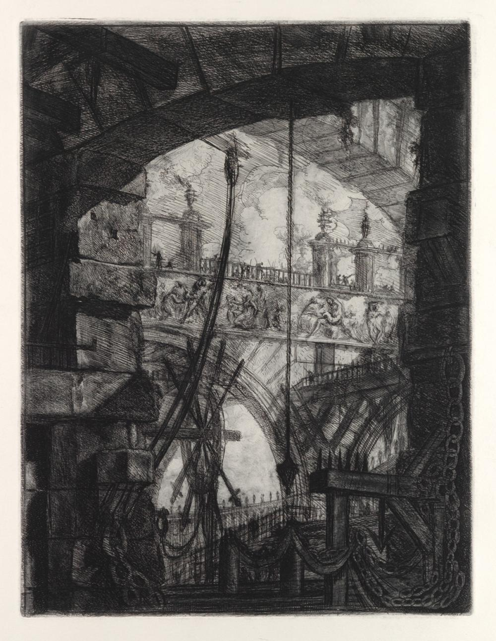 GIOVANNI B. PIRANESI The Grand Piazza.
