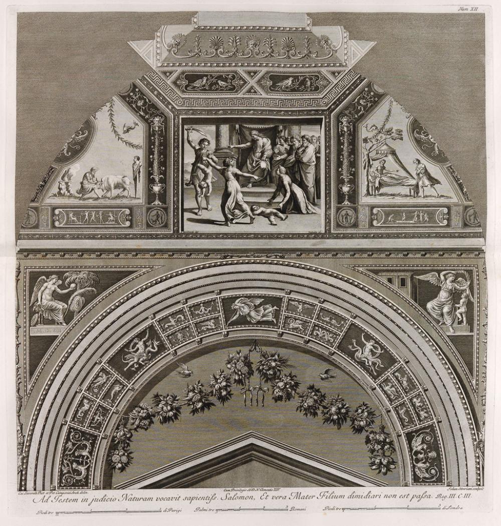 GIOVANNI OTTAVIANI (after Raphael) Loggie di Rafaele nel Vaticano