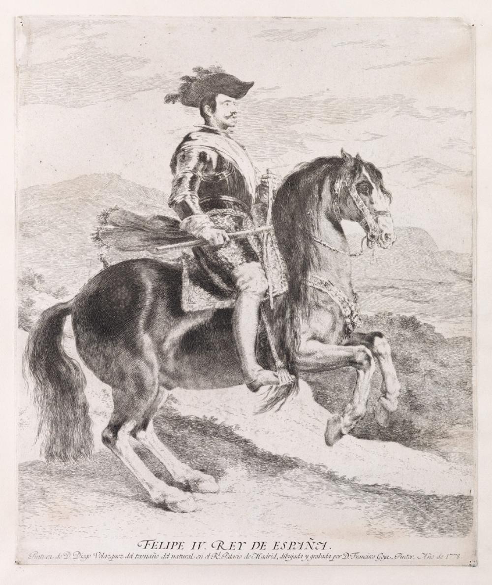 FRANCISCO JOSÉ DE GOYA Felipe IV.